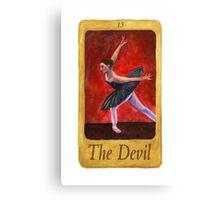 Ballet Tarot Cards: The Devil Canvas Print