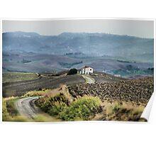 Paesaggi Toscani III Poster