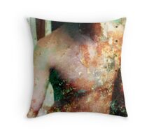 Decayed Throw Pillow