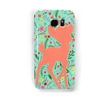Bambi and Flowers Samsung Galaxy Case/Skin