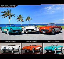 1955-1957 Corvette by 454autoart