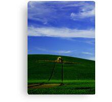 Farm Equipment Canvas Print