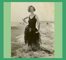 Seaweed Queen Venice Beach California 1925 by Lory Britain
