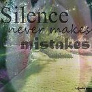 Silence by Melissa Park