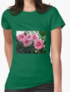 Quintet of Pinks Womens Fitted T-Shirt