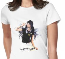 ANGELS WEEP Womens Fitted T-Shirt
