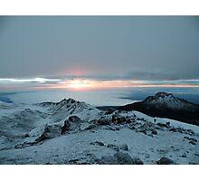 Sunrise of the Gods Photographic Print