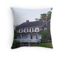 John E. Brubacher House - 1850  - My Roots Throw Pillow