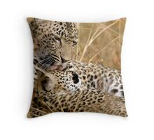 Karula and cub Throw Pillow