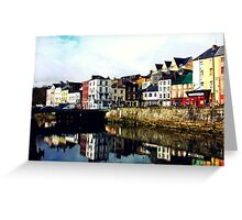 On the River Lee Greeting Card