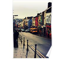 Street in Cork City Poster