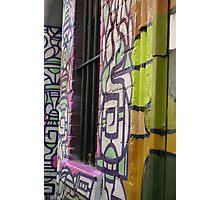 Melbourne Graffiti 2  Photographic Print