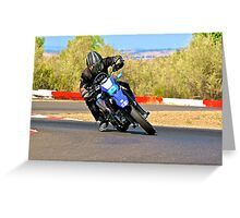 FastTimeMotoX Greeting Card
