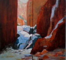 Stanley Chasm..diptych by Mrswillow