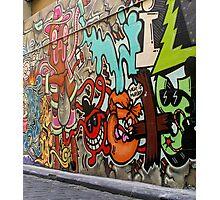 Melbourne Graffiti 3 Photographic Print