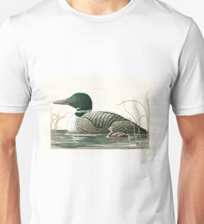 Canadian Loons - realistic animal portrait T-Shirt