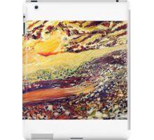 landscape. oil on wood. 96''x48''. iPad Case/Skin