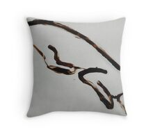 Scat, Cat! 15 Throw Pillow