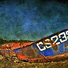 Rusty Old Boat by Bob Culshaw