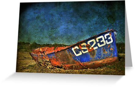 Rusty Old Boat by Bob Culshaw
