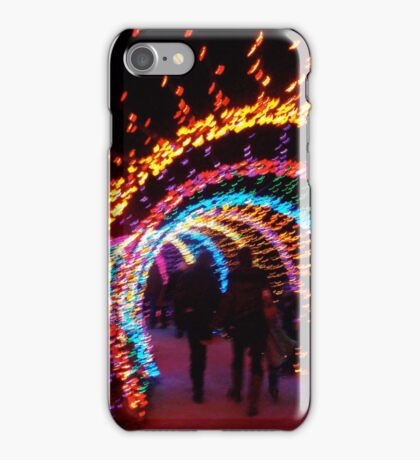 Festival of Lights Earthworm Tunnel iPhone Case/Skin