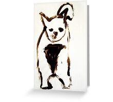 Scat, Cat! 7 Greeting Card