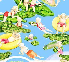 A Float of Crocodiles by Jess Bradford
