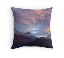 Annapurna Sunrise Throw Pillow