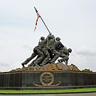 Iwo Jima Marine Memorial by Galen Dalrymple