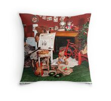 Family Night Throw Pillow