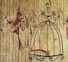 She cannot fly in a cage. by Pip Gerard