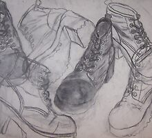 Put the Boots to Him... Medium Style. by angieschlauch