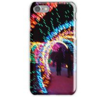 Entering the worm - Festival of Lights iPhone Case/Skin