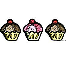 Cupcakes Photographic Print