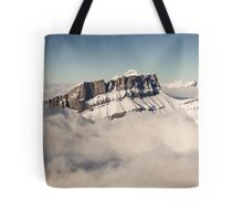 Above the Clouds, French Alps Tote Bag