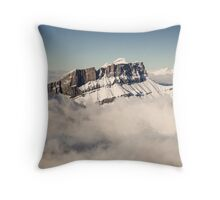 Above the Clouds, French Alps Throw Pillow