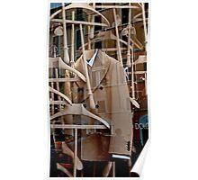 Coat Hanger Reflections Poster