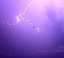 Fulgora - Roman Goddess of Lightning by Barrie Daniels