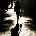 Lady & shadow by Gavinmc