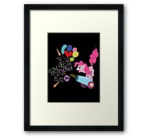 Pinkie Pie Cannon! Framed Print