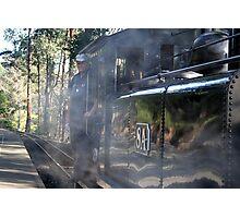 Engine & Steam Photographic Print