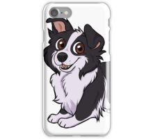 border collie .:chibi:. iPhone Case/Skin