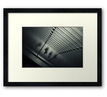 two or three Framed Print
