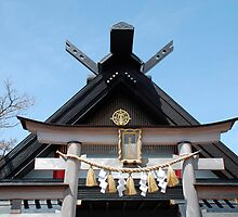 Shrine at Mount Fuji 5th Station  by jojobob