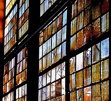 Cathedrale Window by Peter Benkmann