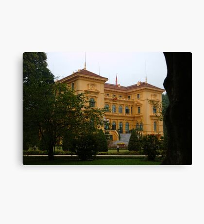 Presidential Palace, Hanoi Canvas Print
