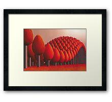 Populus flucta Framed Print