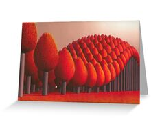 Populus flucta Greeting Card
