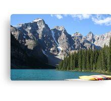 Moraine Lake, Alberta, Canada Canvas Print