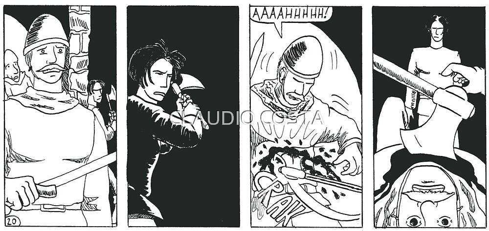 "VIKINGS ""ambush"" by CLAUDIO COSTA"